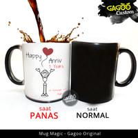 CUSTOM KADO Mug Bunglon Magic - Kado Unik custom Hadiah | Says Baloon