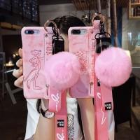 Casing Soft Case oppo A7 a3s a37 a3s f1s F7 F9 Motif Kartun Pink