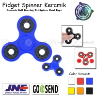 Fidget Spinner Keramik Ceramic Ball Bearing Tri Spiner Hand Toys