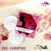Fair n Pink Brightening Body Bar With Goats Milk/Sabun Jerawat