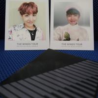 OFFICIAL BTS The Wings Tour Polaroid - JHope dan RM - 2 pcs