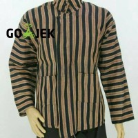 Baju Kemeja Surjan Lurik / Pakaian Adat Jawa