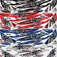 Sticker striping variasi motor mio j