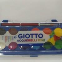 Watercolor / Cat Air Blocks uk Mini 12 colors (12 warna) - Giotto