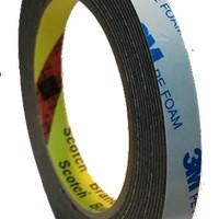 3M Double Sided Polyethylene PE Foam Tape 1600 TG, 12 mm x 3.5 M