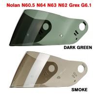 Visor Kaca helm Nolan N605 N64 N63 N62 Grex G6.1