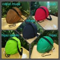Sarung Helm, Cover Helm,Jaring Masker Helm,Tas Helm Anti Air