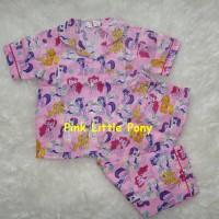 New! piyama little pony anak / piyama doraemon anak size m