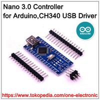 Nano V3.0 Controller for Arduino ATMEGA328P 16Mhz CH340 USB driver
