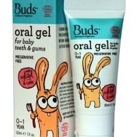 Buds Oralcare Organic Buds Oral Gel 30 ml 0-1Y - Bud Organic Buds