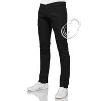 Celana jeans pria / Skinny slim fit / padlock
