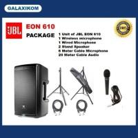 Speaker JBL EON 610 - 10 inch (Package)