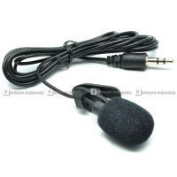 Microphone with Clip Jack 3.5 mm Mic External Mic Eksternal