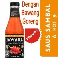 saos sambal jawara / saus / saus jawara/ saus hot/ saos sambel