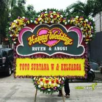 Bunga Papan Wedding (Uk 150 x 200) - Jakarta GRATIS ONGKIR