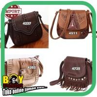 ready stock Vintage Sling Bag Korea Style Tas selempang import murah
