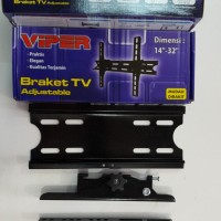 VIPER Adjustable Bracket Tv LCD LED 14 - 32 inch breket braket