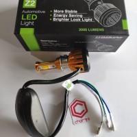 Lampu Led Luminos Z2 3 Sisi 36 Watt Motor Bebek Matic