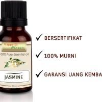 Happy Green Jasmine Essential Oil (10 ml) - Minyak Bunga Melati Murni