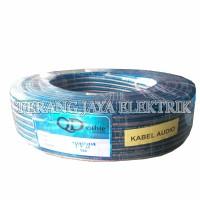 Kabel Audio 2x80 Serabut Transparan Per Roll 100 Yard QD