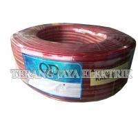 Kabel Audio 2x50 Serabut Transparan Per Roll 100 Yard QD