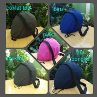 Cover/Sarung/Raincoat/Jas Hujan/Tas Helm Anti Air