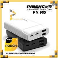 Pineng PN 985 10000 mAh Fast Charge Small Mini Powerbank Original
