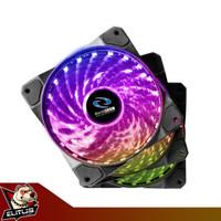 Kipas Casing Raidmax NV-A120R3 RGB 120mm x 3 Fan Case with Controller