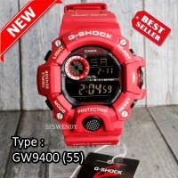 MODEL TERBARU !!! Jam tangan pria G Shock GW-9400 Full Merah red army