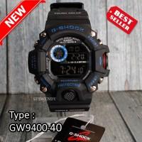 FOTO REAL !! G Shock GW-9400 Hitam Besi Jam tangan pria & anak digital