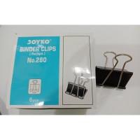 [PERPACK] Binder Clip 280 1kotak 6pc
