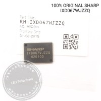 IC MICON SHARP ORIGINAL IXD067WJZZQ IXD067 IX D067 IXD 067 MICOM