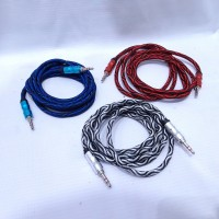 Kabel AUX 3,5mm stereo to 3,5 stereo 1,5 meter