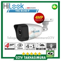 Kamera CCTV Outdoor 4MP FULL HD Hilook by Hikvision - THC B140P Bullet