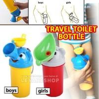Travel Toilet Bottle/ Botol Pispot Portable Tempat Pipis Anak