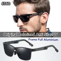 Sunglasses Kacamata Hitam Polarized pria Original Anti Silau UV 6560