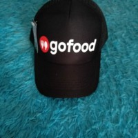 Topi trucker GOJEK GOFOOD