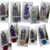 CUCI GUDANG Mukena Katun Silk Tersedia banyak pilihan motif 5