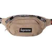 Supreme SS18 waist bag Tan / Khaki
