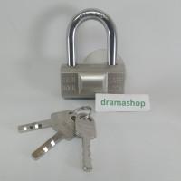 Kunci Gembok Pintu Pagar Rolling Door Toko bulat bantal Pendek 60 60mm