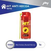 HIT Aerosol Anti Kecoa Spray Botol 150 ml