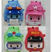 Backpack Import Tas Ransel Sekolah Anak Boneka Karakter Robocar Poli A