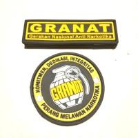 Patch logo GRANAT Gerakan Nasional Anti Narkotika