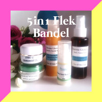 PAKET FLEK BANDEL/SUSAH PUTIH/KUSAM SANGAT