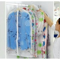 Dust cover baju celana dress cloth cover peva - sarung pakaian F268