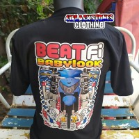 kaos motor racing honda beat fi distro custom balap thailook