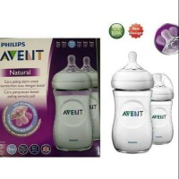 NL 2444 Philips Avent Natural Box Putih isi 2 Twin Pack 260 ml