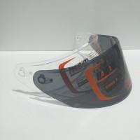 Flat visor nhk rx9 kaca helm nhk rx9 dark smoke