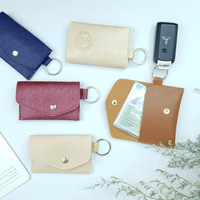 Keyholder 3.0 souvenir pernikahan dompet kunci free emboss packaging