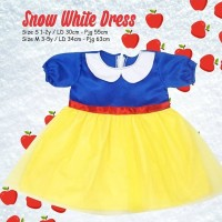 SNOW WHITE DRESS | Snow White Dress Anak